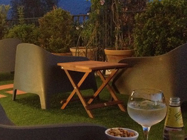 Gin and Tonic on the terrace